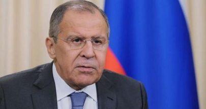 لافروف: إجراءات الجيش السوري وروسيا رد طبيعي لإبعاد الإرهابيين عن محيط إدلب image