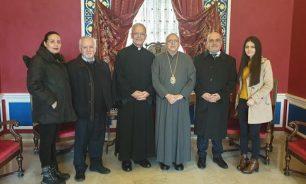 رئيس البعثة البابوية نوّه بالأعمال الإجتماعية لأبرشية الفرزل وزحلة للروم الملكيين الكاثوليك image