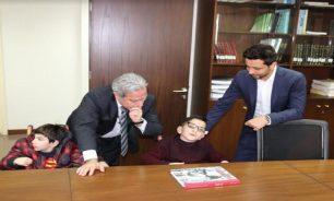 مشرفيّة التقى أطفال ذوي الإحتياجات الخاصّة من جمعية مؤسسة الكفاءات image