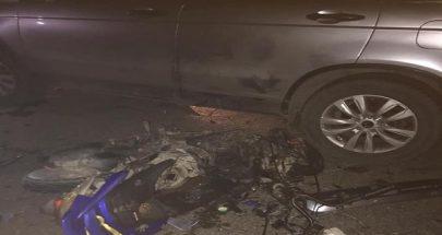 قتيلان في حادث سير مروّع في عدلون... سيارة صدمت شابين على دراجتهما النارية! image