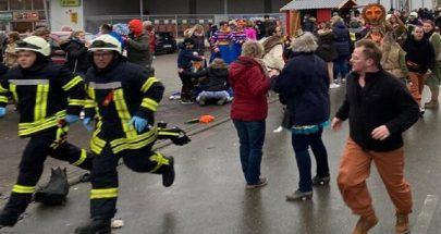 بالصور والفيديو: إصابة 15 شخصا على الأقل في حادثة دهس في المانيا image