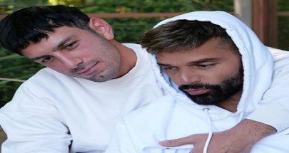 """بالصورة... ريكي مارتن وزوجه السوري يحتفلان بعيد الحب: """"أحبك جوانو أنت حياتي"""" image"""