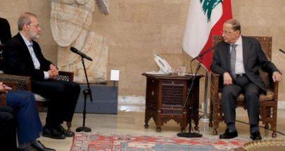 الرئيس عون لم يعلّق على العرض الإيراني! image