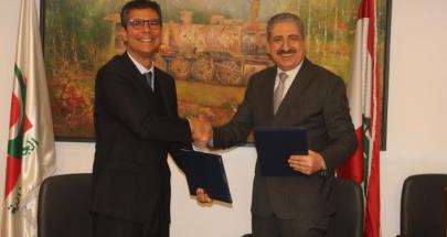 اتفاقية تعاون بين الجامعة اللبنانية والسفارة البرازيلية في بيروت image