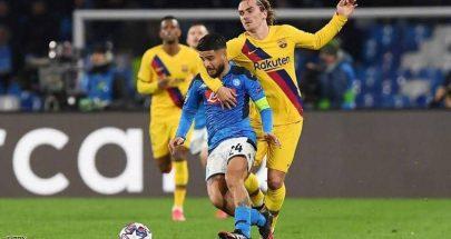 """برشلونة يعود من نابولي بـ""""تعادل ثمين"""".. ويلاحق رقما قياسيا image"""