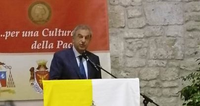 جائزة تقديرية لسفير لبنان في الفاتيكان image