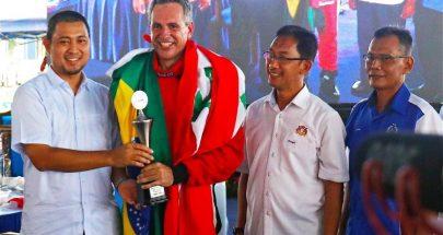 محمود وعامرعيتاني يشاركان في بطولة العالم للاكوابايك image