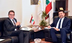 وزير الطاقة التقى سفير المانيا وقطاعي الكهرباء والمياه مدار البحث image