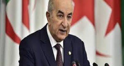 تبون: سوريا لن تسقط وهى الدولة الوحيدة التى لم تطبع حتى الآن image