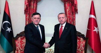 بعد اجتماع بوتين وحفتر بموسكو.. أردوغان يلتقي السراج image
