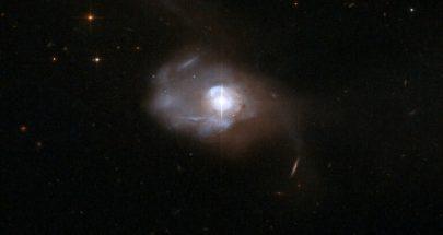 """رصد الأكسجين للمرة الأولى خارج مجرتنا في مجرة غامضة """"مشرقة للغاية"""" image"""
