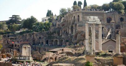 العثور على قبر ومعبد تحت الأرض مكان دفن مؤسس روما الأسطوري image