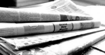 عناوين الصحف الصادرة يوم الاربعاء في 19 شباط 2020 image