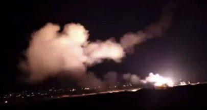سوريا تؤكد إسقاط معظم الصواريخ المعادية وعدم إصابة أي من المطارات image