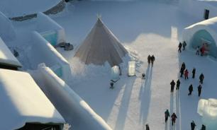 فندق من الجليد في السويد يفتح أبوابه لعشاق الثلج image
