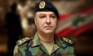 """""""لا نقبل أن تمدّ اليد على حقوقنا"""".. قائد الجيش: العسكري يعاني ويجوع image"""