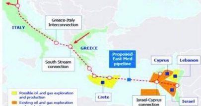 """""""East-Med Pipeline"""".. الهدف الأول والأخير للمرحلة المقبلة image"""