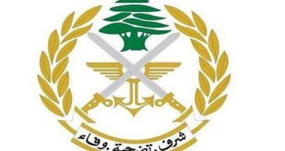 الجيش: للتقيد بالتعليمات والتزام المنزل image