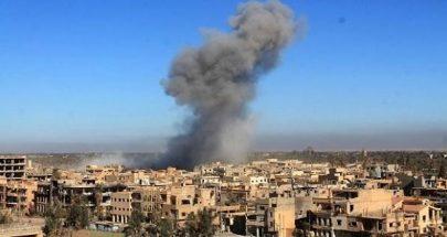 14 قتيلا إثر قصف للتحالف على ريف دير الزور image