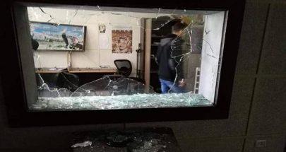 مجهولون اعتدوا على مبنى هيئة اذاعة وتلفزيون فلسطين الرسمية في غزة image