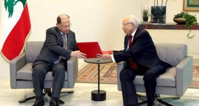 الرئيس عون تسلم من ممثل السبسي الدعوة للمشاركة في القمة العربية image