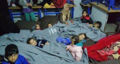 الصليب الأحمر انجز اجلاء اكثر من 500 لاجئ اجتاحت السيول خيمهم في السماقية image
