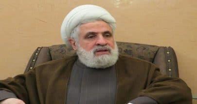 قاسم: حزب الله جزء لا يتجزأ من ارادة اللبنانيين في مقاومة الاحتلال image