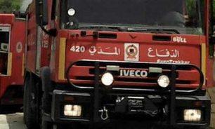 السيطرة على الحرائق في خراج عدد من قرى فتوح كسروان image