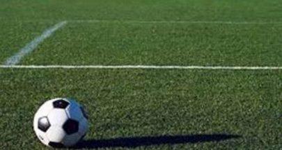 تعادل السلام زغرتا والاخاء الاهلي عاليه في بطولة كرة القدم image