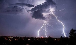 طقس غائم الى ممطر مع عواصف رعدية… image
