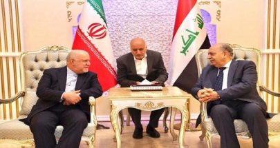 وزير نفط إيران يعقد مباحثات بالعراق للتنسيق في أوربك image