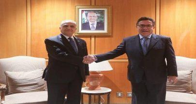 وصول نائب وزير الخارجية اليمني الى بيروت image
