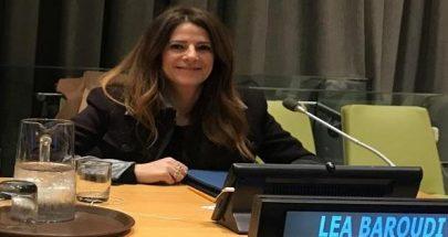 ليا بارودي أمام مجلس الأمن: حان الوقت لنكون متساويين أمام القانون image