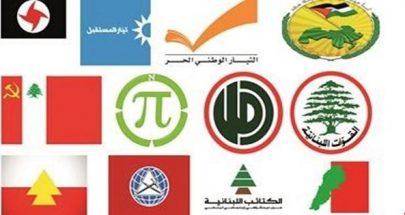 الأحزاب المرتاحة image