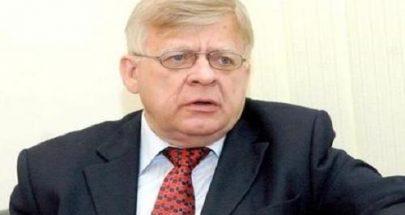 زاسبيكين: روسيا سترفض تدويل الأزمة اللبنانية منعا للاستغلال السياسي image