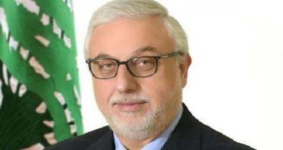 الصمد عزى بامير الكويت: لبنان فقد صديقا وأخا وداعما له image