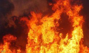 إخماد حريق في بلدة عديسة-مرجعيون image