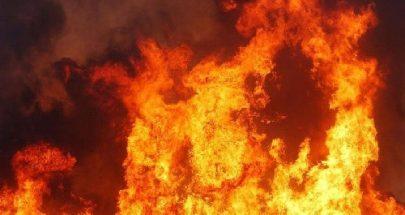 حريق داخل محل لتصليح الأجهزة الكهربائية والإلكترونية في سوق بعلبك التجاري image
