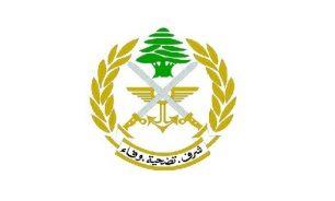 الجيش: عناصرنا لم يطلقوا أي نوع من الرصاص الحي باتجاه المدنيين image