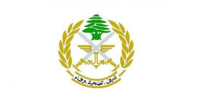 الجيش اللبناني: توزيع 300 حصة من المواد الغذائية على عدد من العائلات الجنوبية image