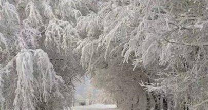 إليكم الطرقات المقطوعة بسبب تراكم الثلوج image