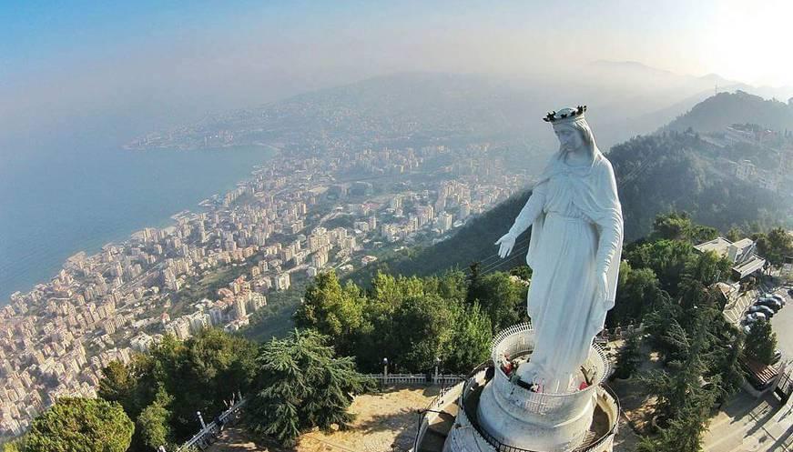 ليبانون فايلز | بيان صادر عن إدارة مزار سيّدة لبنان- حريصا