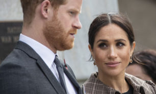 الأمير هاري وميغان ماركل يودعان حياة الملوك image
