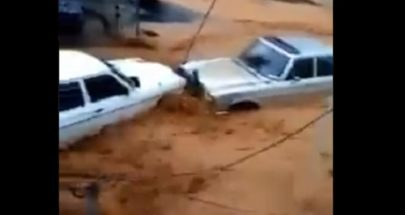 """""""راحت السيارات كلها يا حرام""""... سيول فيضانية جرفت الاخضر واليابس! image"""