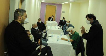 إجراءات وقائية في مستشفى مار ماما ونائبا بشري تبرعا ب 165 مليون ليرة لتجهيزه image