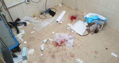 تكسير داخل طوارىء مستشفى البرج image