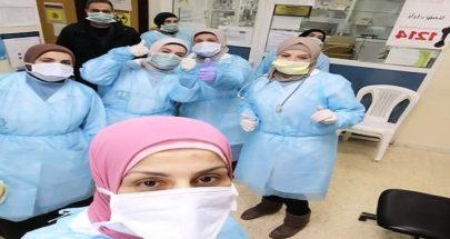 تدريب ممرضين وممرضات في مركز الإرشاد الطبي في برقايل image
