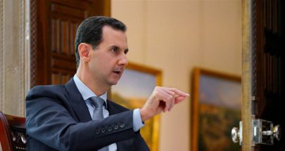 الأسد تعرّض لهبوط ضغط أثناء كلمته في البرلمان image