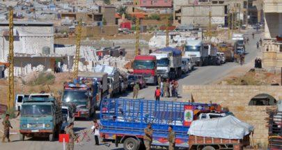 توقيف سيارة بيك آب مكتظة بالعمال الزراعيين السوريين في القاع image
