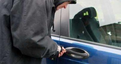 سرقة سيارة في صيدا image